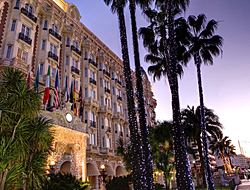 Cannes, la Croisette and its luxury Hotels